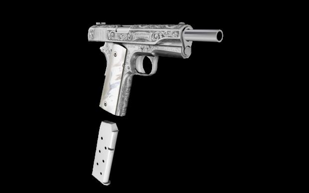 Colt 1911 - Engraved