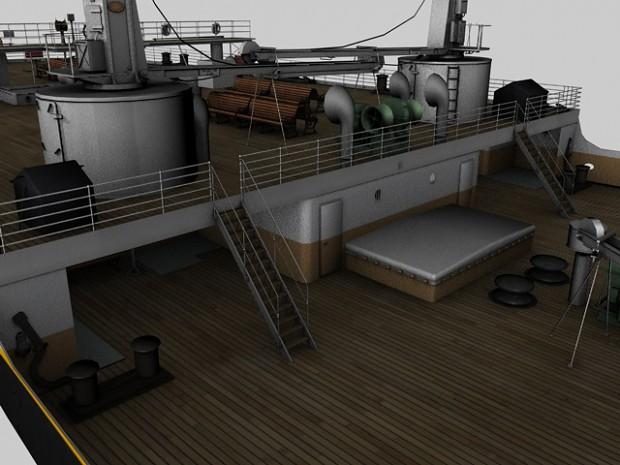 Aft Well Deck image Mafia Titanic Mod for Mafia The