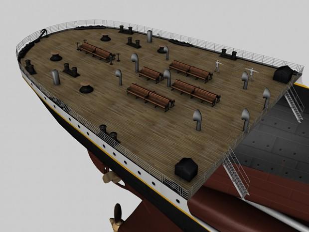 Poopdeck Railing Done Image Mafia Titanic Mod For Mafia