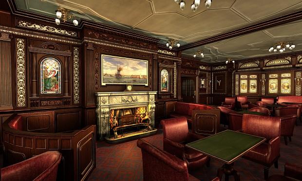 Smoking Room Completed Image Mafia Titanic Mod For Mafia