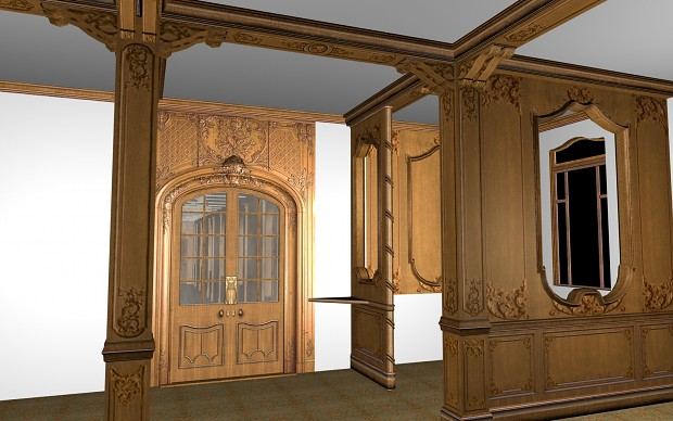 1st Class Lounge More Progres Done Image Mafia Titanic