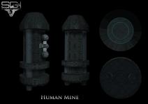 Human Mine Texture