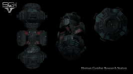 Human Combat Research Station Texture