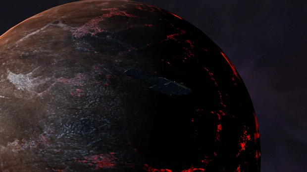 Daedalus Around IS Volcanic Planet