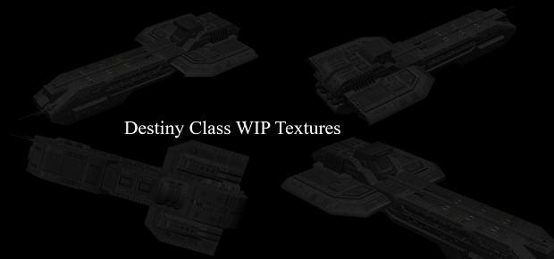 Destiny Class WIP Textures