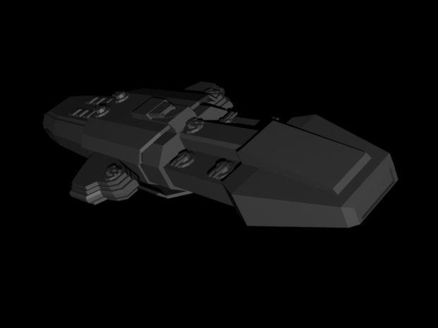 Human Claudius Class Gunboat.