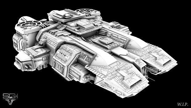 Traveller High Poly WIP