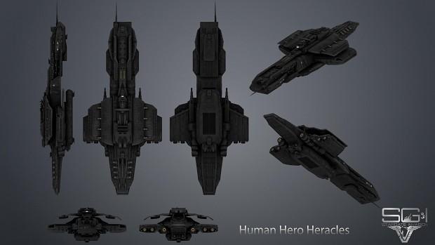 Human Heracles Texture