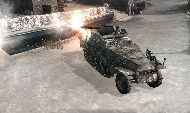 SdKfz 251/21 with Triple MG 151