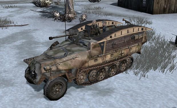 SdKfz 251/7 Pioneer Halftrack