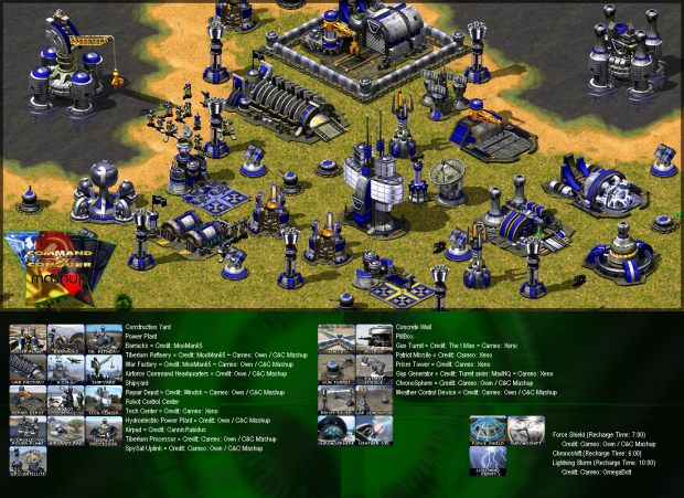 Allied base