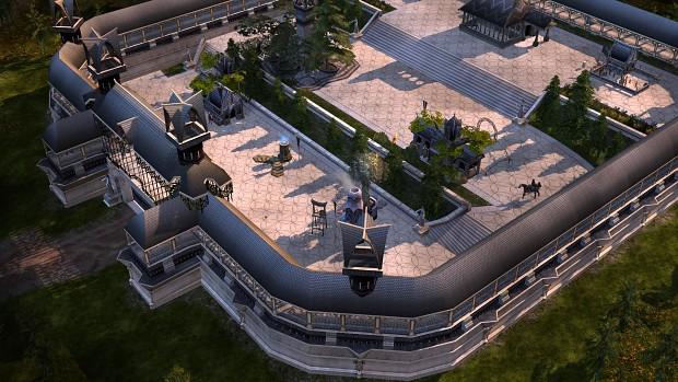 High Elven Castle (BFME 1 Mode)