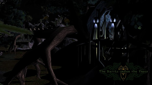 Elves at a Mirkwood Night
