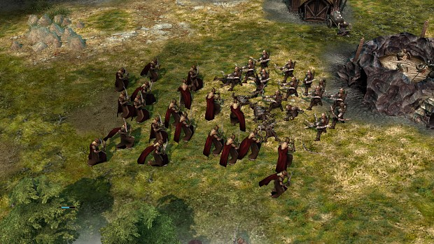 Alpha version of the Mrikwood Soldiers