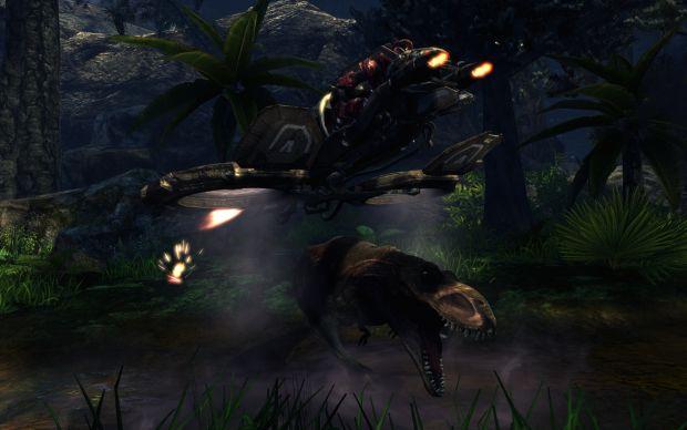 T-Rex vs Manta