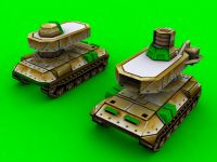 GLA Quad Cookie Tank