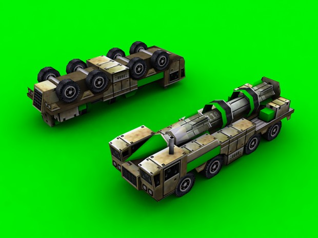 GLA SCUD Launcher Remake
