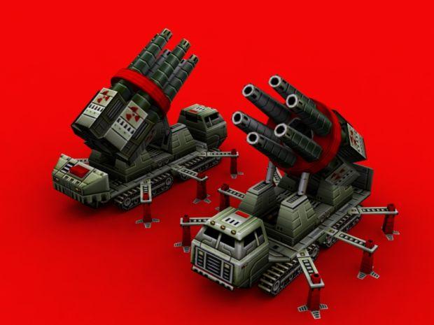 China Gattling Nuke Cannon
