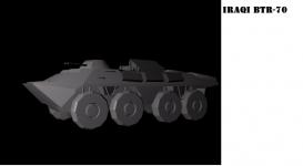 Iraqi BTR-70 Renders