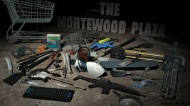 The Mortewood Plaza - Weapon Test Render.