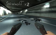 The Mortewood Plaza - Dual Sawn-off Shotguns!