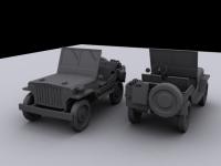 Allied standard willy jeep
