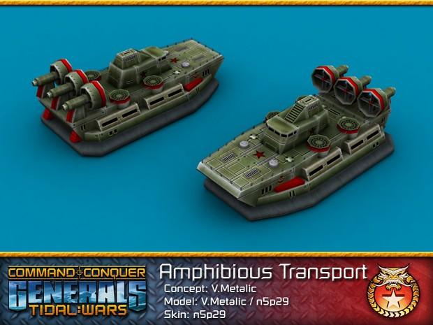 Chinese Amphibious Transport