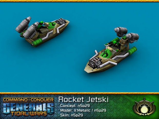 GLA Rocket Jetski