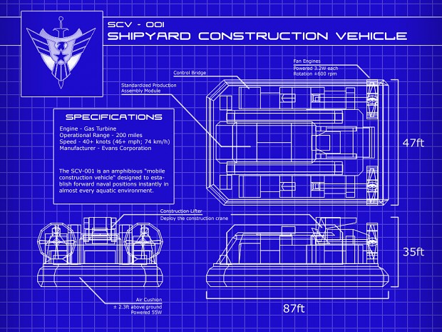 USA SCV Blueprint