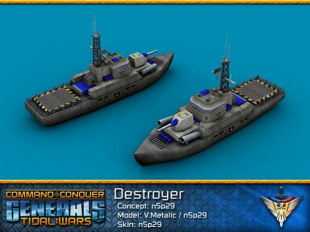 USA Destroyer
