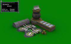 Mutants Airfield textured version