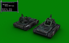 Mutants Horus AA Tank