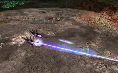 Screen No.8 - Scrin Destroyer in action