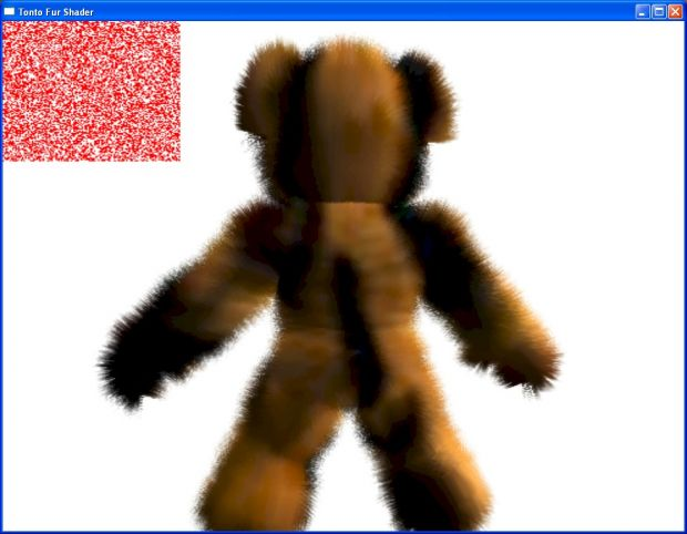 Teddy Wars Fur Shader