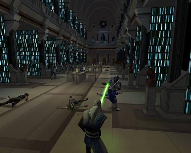 Shot on Jedi Game Engine