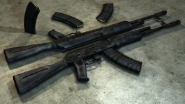 AK101 Weapon - Render