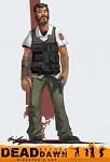 "Dead before Dawn - Mall Security Guard ""Hank"""