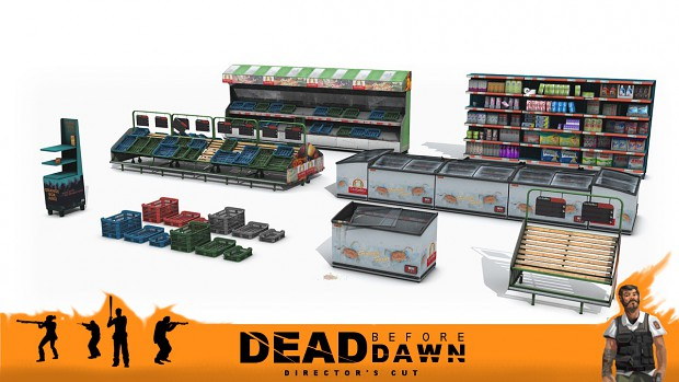 Dead before Dawn - Director's Cut - Custom Models