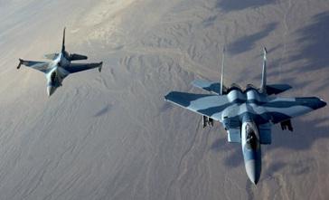 USA F-16 or F-15