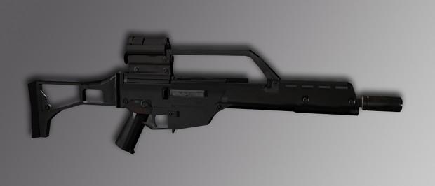Photo-realistic g36k!