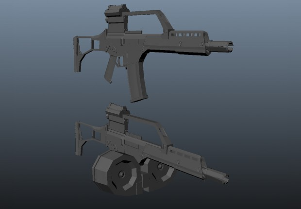 Almost done! G36