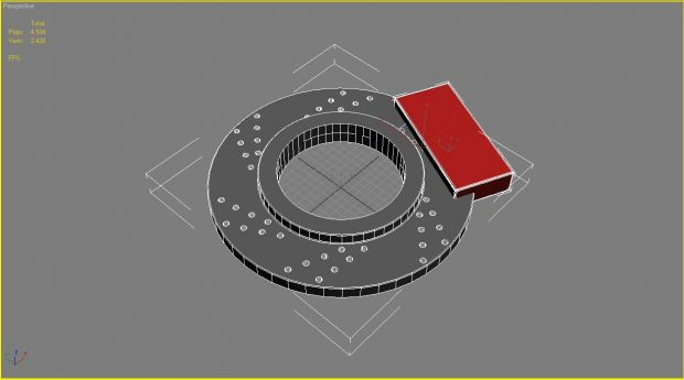 Break Rotor Wheel with Brake Disc/2