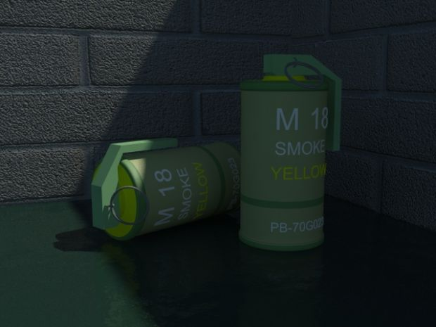 Smoke Nade Coloured