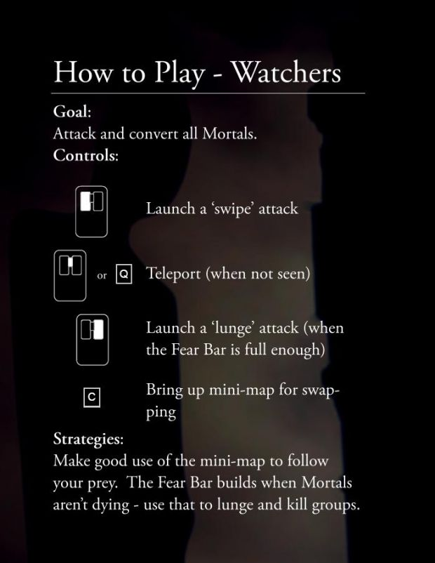 [Manual] How to Play - Watchers