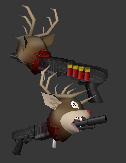 Rudolph the red nose.....ohh NO WHY!!!!!!