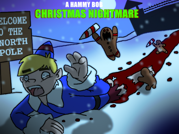 A Hammy-Bob Christmas Nightmare splash screen