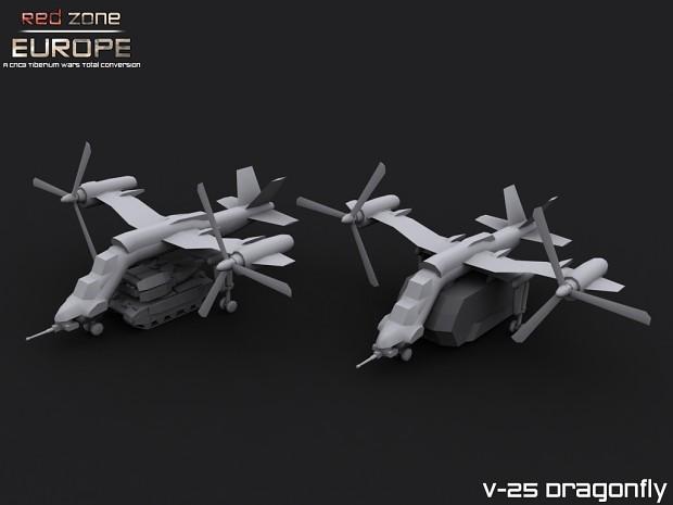 WC V-25 Dragonfly heavy lifter