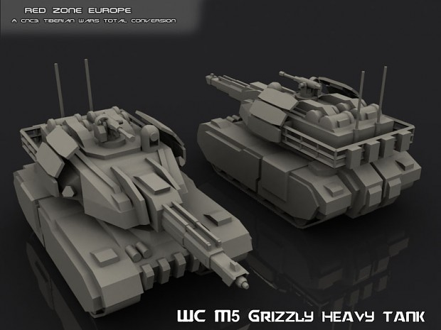 WC M5 Grtizzly particle cannon tank