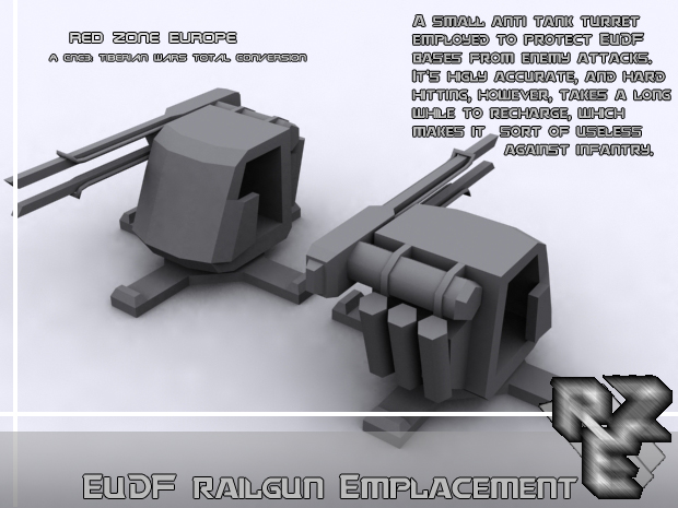 Railgun turret