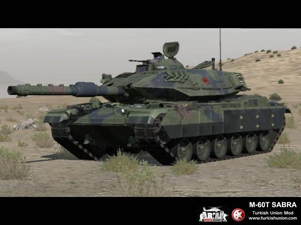 M-60T1 Sabra (Turkish Army)